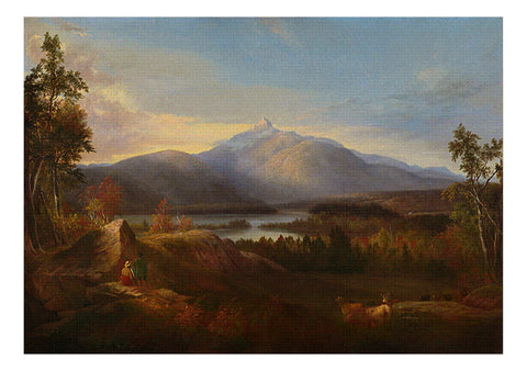 Mount Chocorua, Alvan Fisher