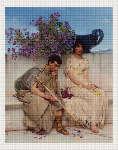 An Eloquent Silence, Lawrence Alma-Tadema