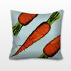 Colorful Carrots, Needlepoint Cushion, Pillow