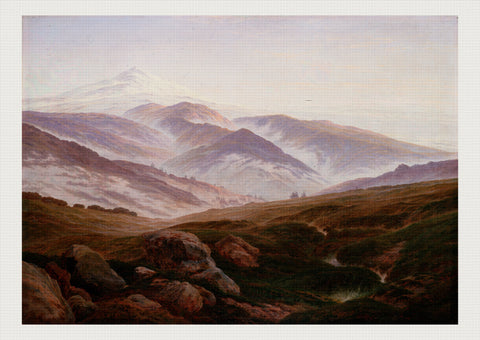 Giant Mountains, Caspar David Friedrich
