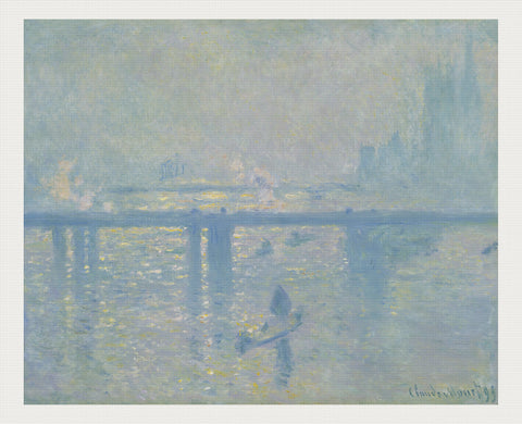 Charing Cross Bridge, Monet