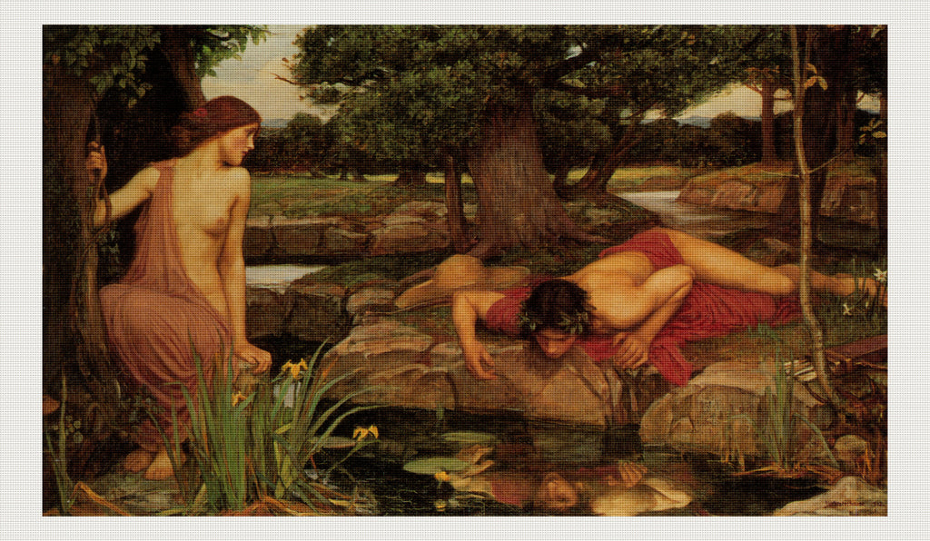Echo and Narcissus, John William Waterhouse