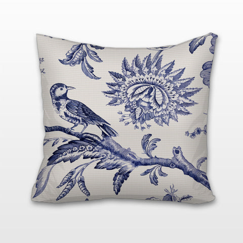 Flora and Fauna - Toile, Cushion, Pillow