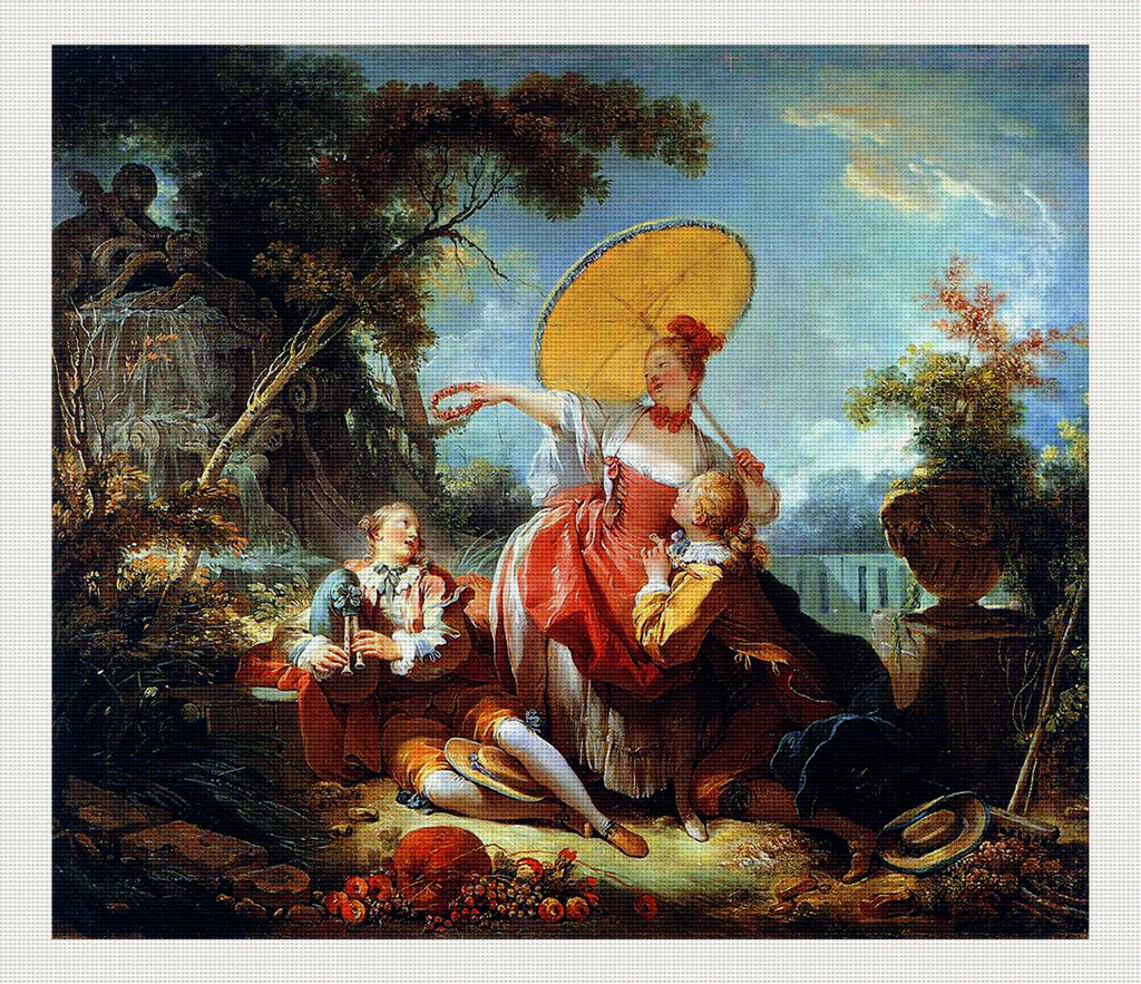 The Musical Contest, Jean-Honoré Fragonard
