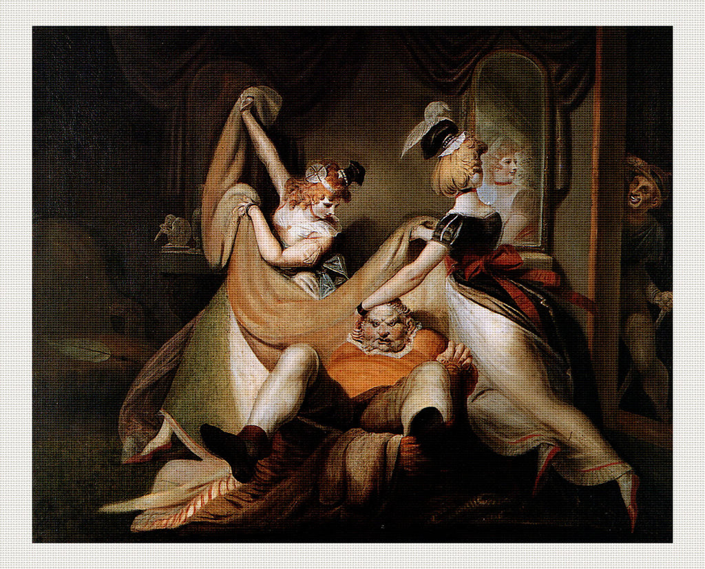 Falstaff in the Laundry Basket, Henry Fuseli