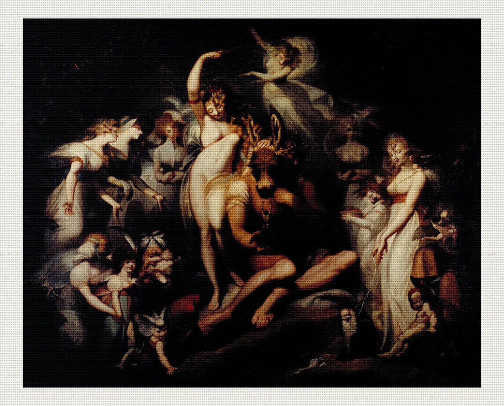 Titania and Bottom, Henry Fuseli