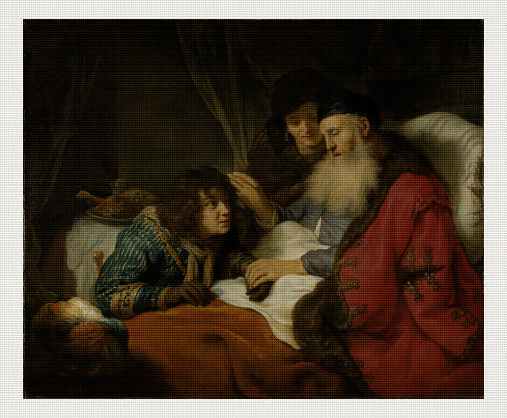 Isaac Blessing Jacob, Govert Flinck