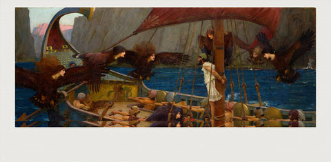 Ulysses and the Sirens, John William Waterhouse