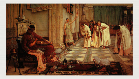 The Favorites of the Emperor Honorius, John William Waterhouse