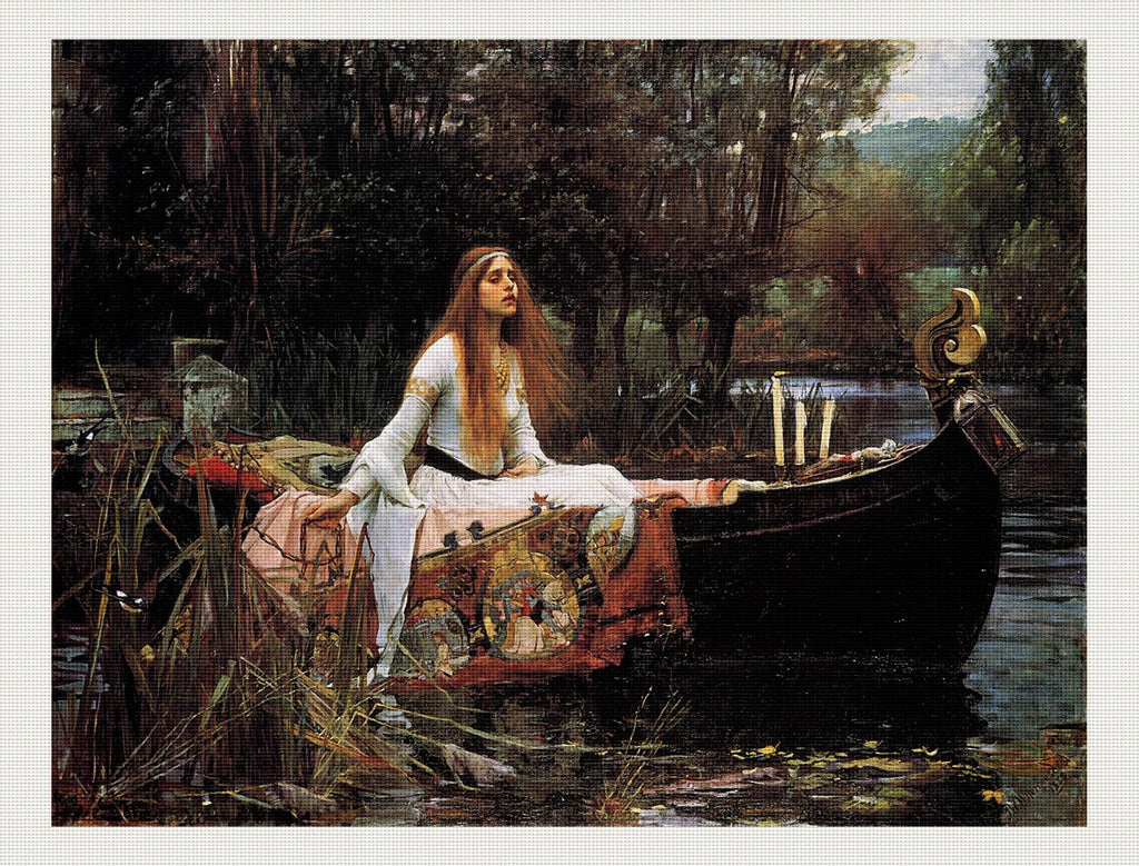 The Lady of Shalott, John William Waterhouse