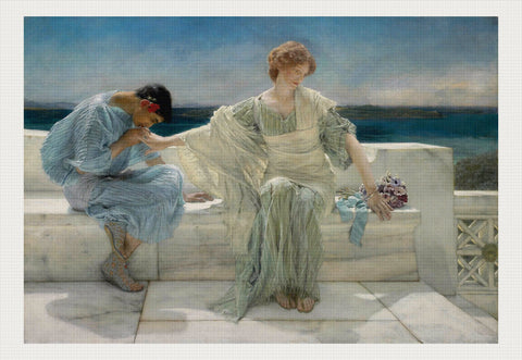 Ask Me No More, Lawrence Alma-Tadema