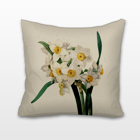 Narcissus, Cushion, Pillow