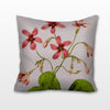 Pink Sorrell, Needlepoint Cushion, Pillow