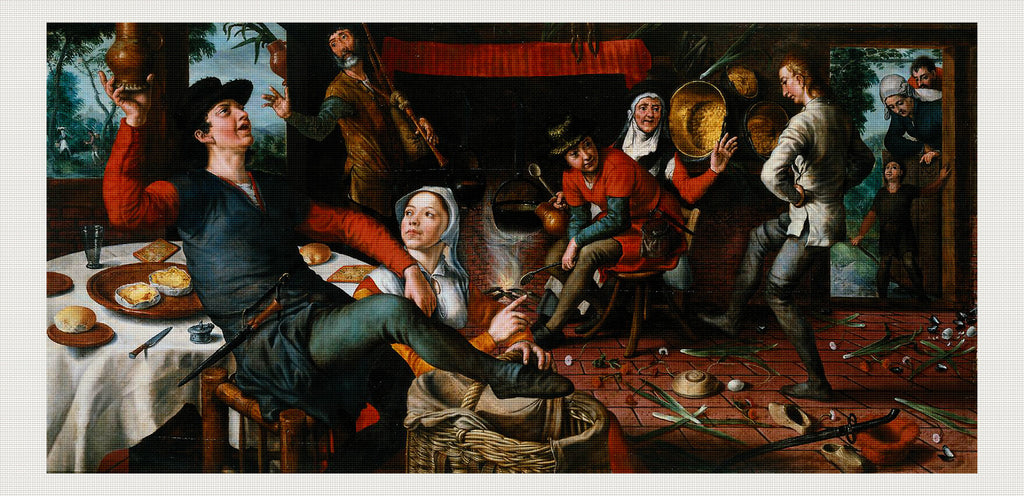 The Egg Dance, Pieter Aertsen