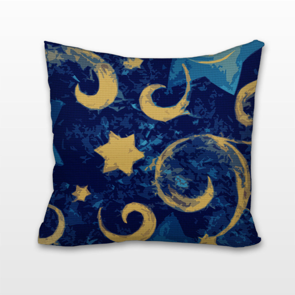 Stars and Swirls, Cushion, Pillow