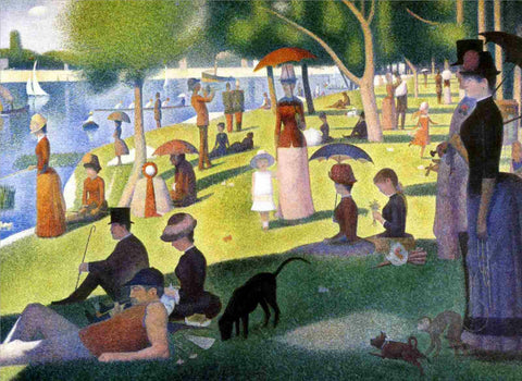 A Sunday Afternoon on La Grande Jatte, Georges Seurat