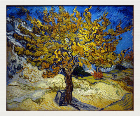 The Mulberry Tree, Vincent van Gogh