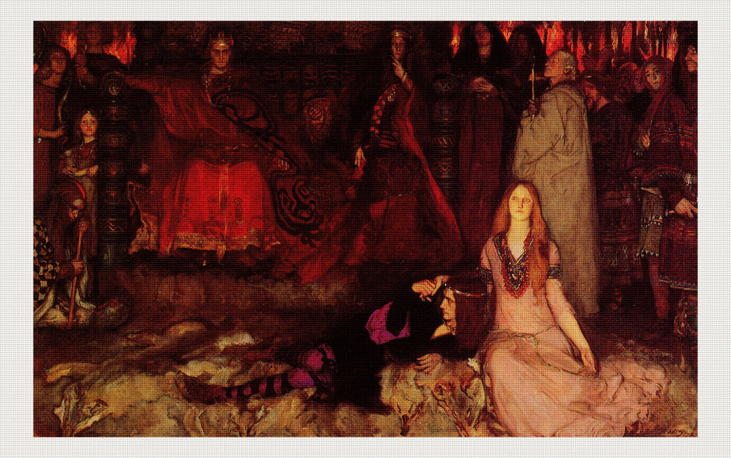 The Play Scene in Hamlet, Edwin Austin Abbey