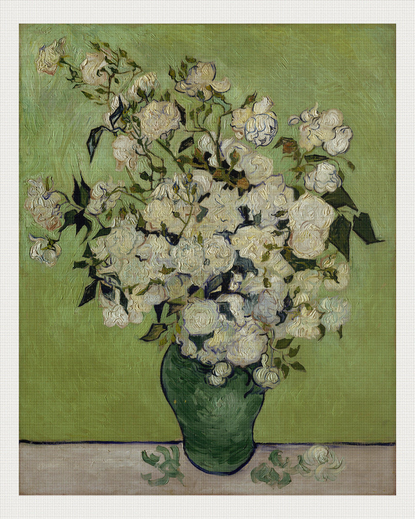 Vase of Roses, Vincent van Gogh