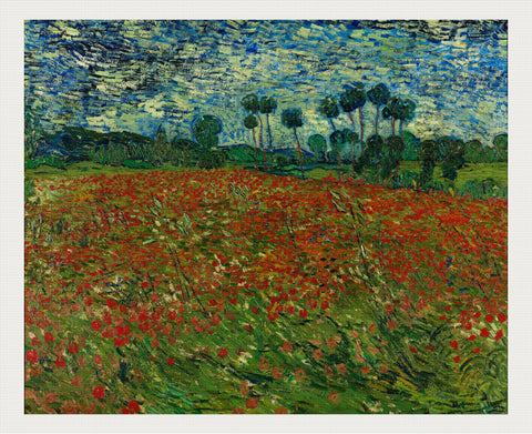Poppy Field, Vincent van Gogh