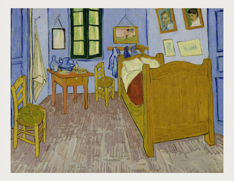 Van Gogh's Bedroom in Arles, Vincent van Gogh