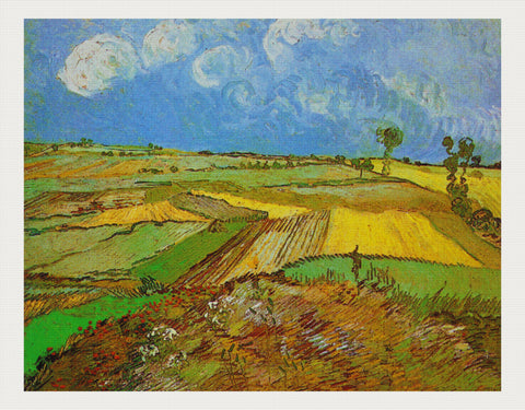 Wheat Fields after the Rain, Vincent van Gogh