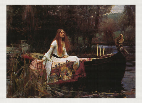 Waterhouse ladyofshalot, John William Waterhouse