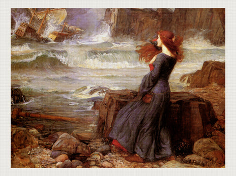 Miranda - The Tempest, John William Waterhouse