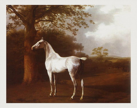 White Horse in Pasture, Jacques-Laurent Agasse