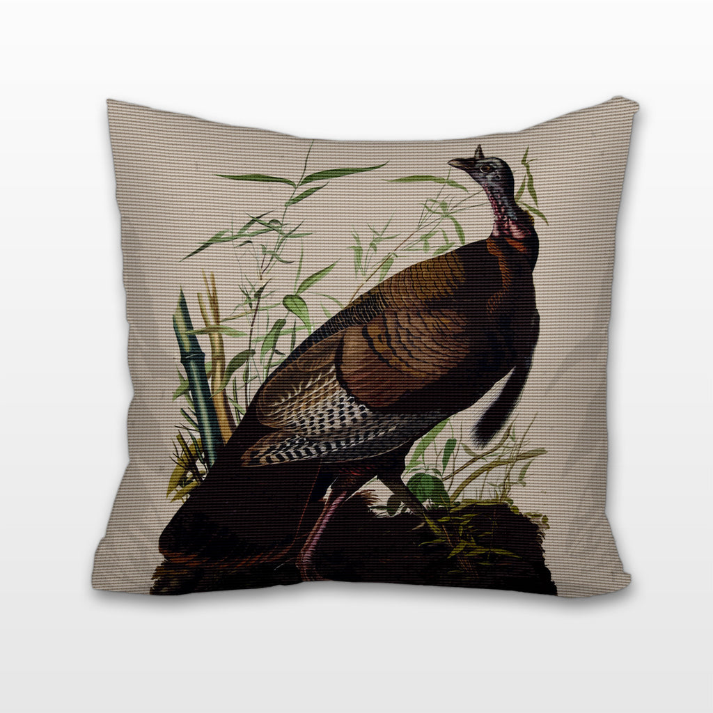Wild Turkey, Cushion, Pillow