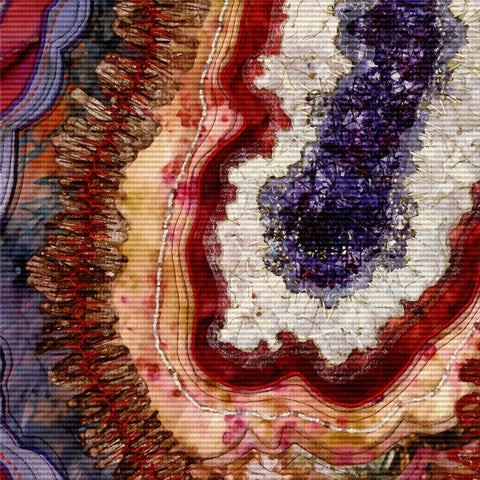 Agate Art # 2 Canvas
