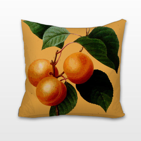Apricots, Cushion, Pillow