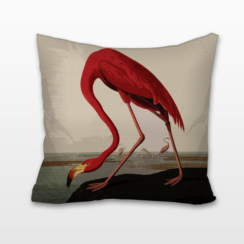 Flamingo, Cushion, Pillow