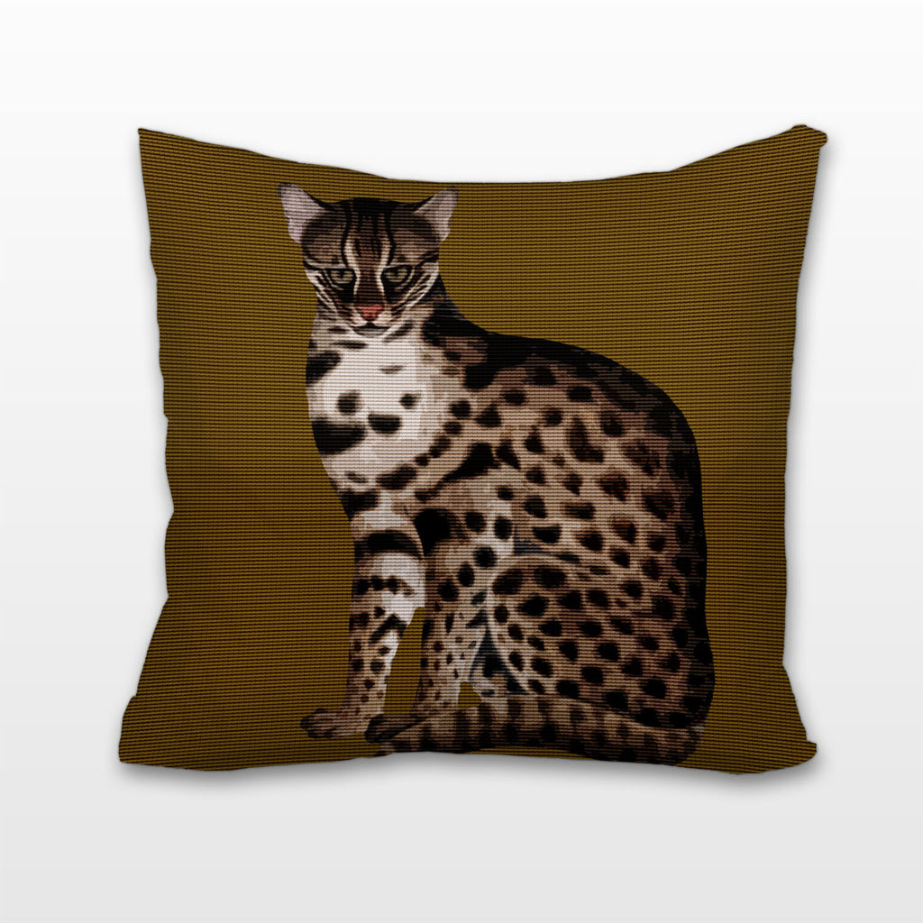 Big Cat, Cushion, Pillow
