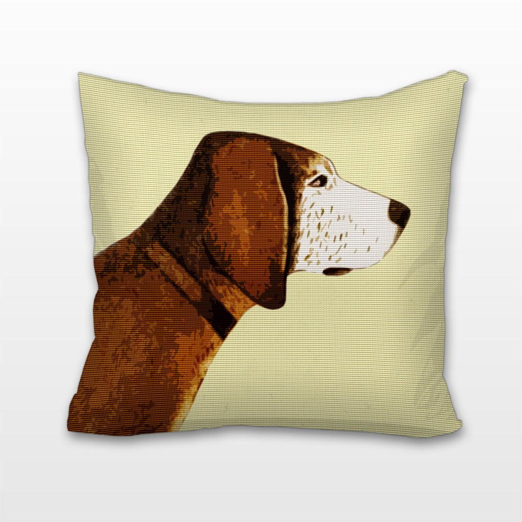 Brown Retriever, Cushion, Pillow