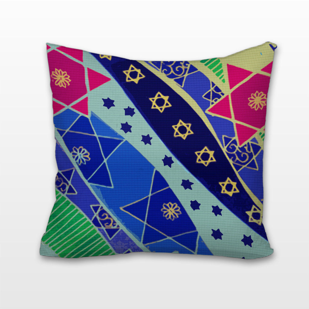 Starry Mosaic, Cushion, Pillow