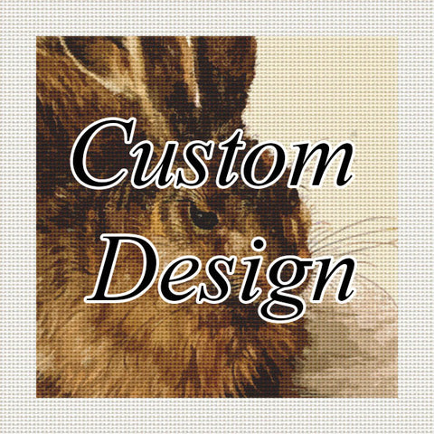 Custom Needlepoint Design - Purchase Form