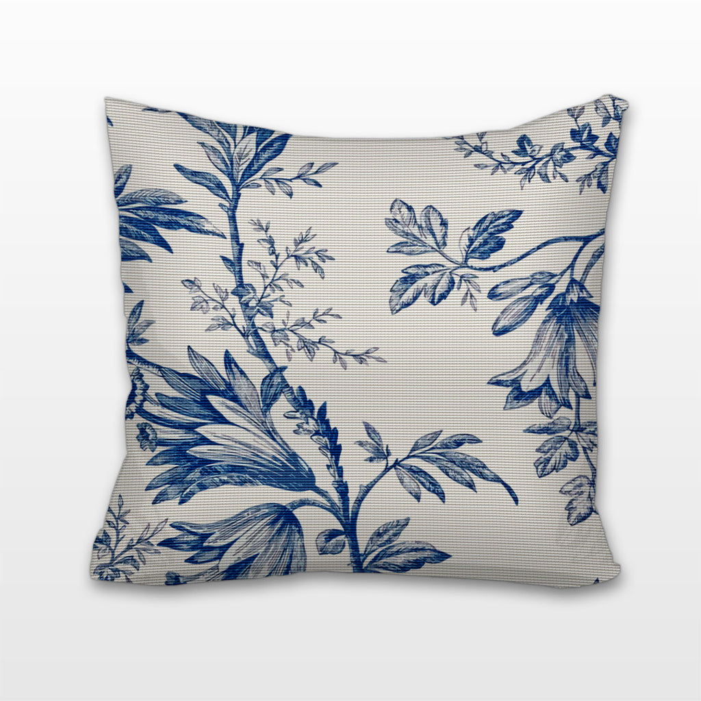 Tropical Toile, Cushion, Pillow