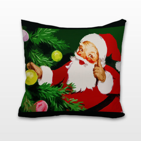 Father Christmas, Cushion, Pillow