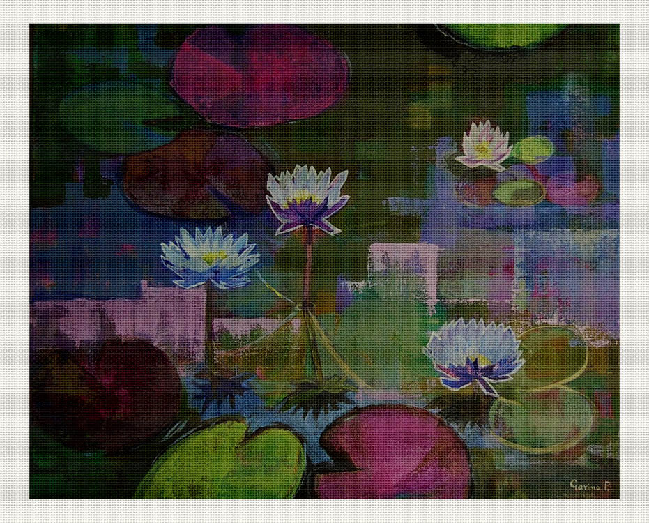 Waterlilies #4, Garima Parakh