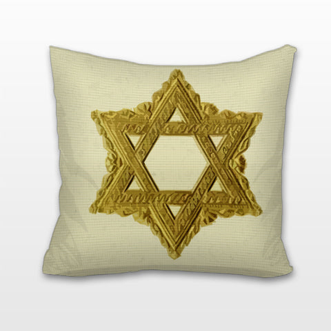 Regal Star of David, Cushion, Pillow