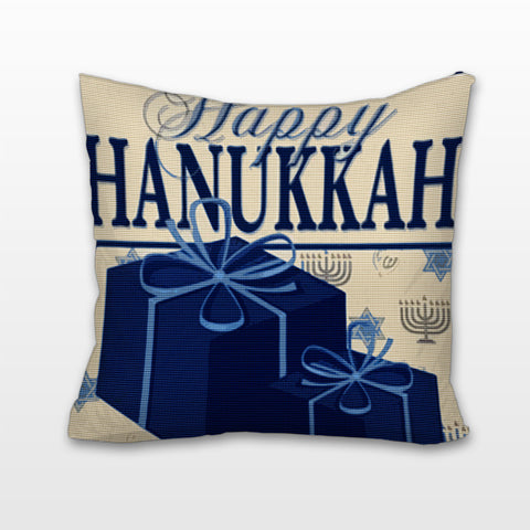 Happy Hanukkah! Cushion, Pillow