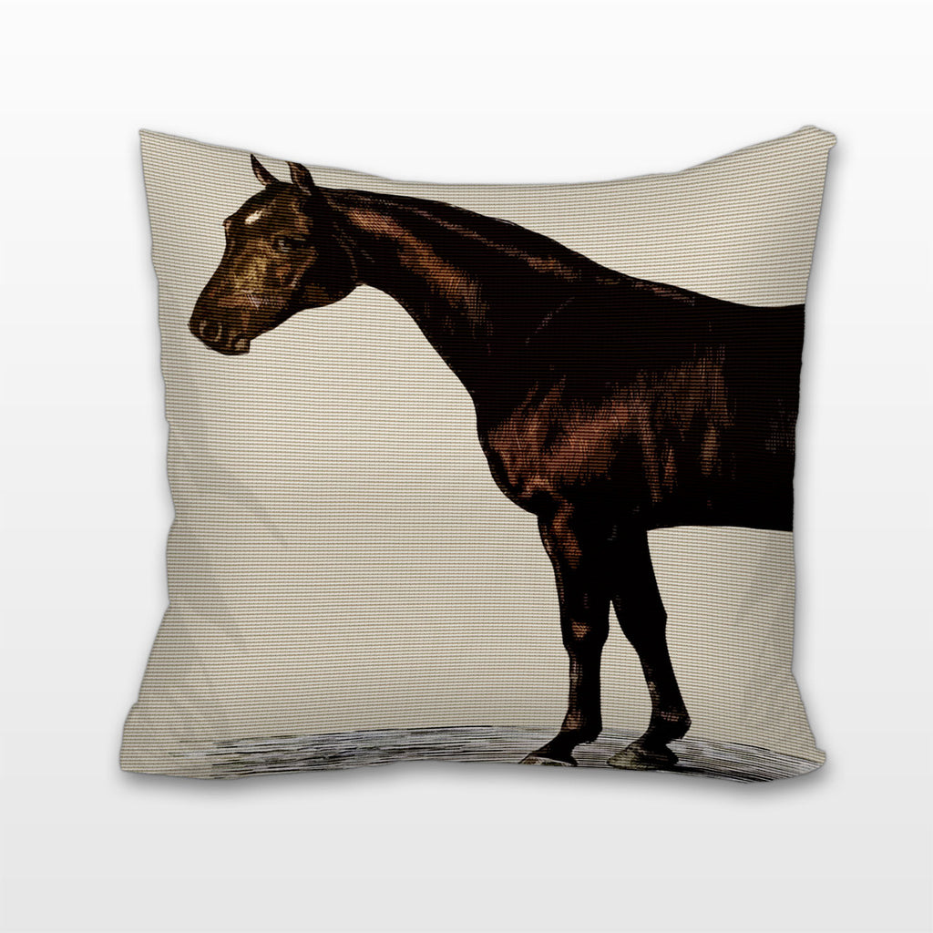 Horse's Front, Cushion, Pillow
