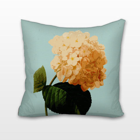 Hydrangea, Cushion, Pillow