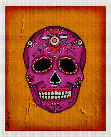 Day of the Dead Pink, Orange, Joseph Sonday