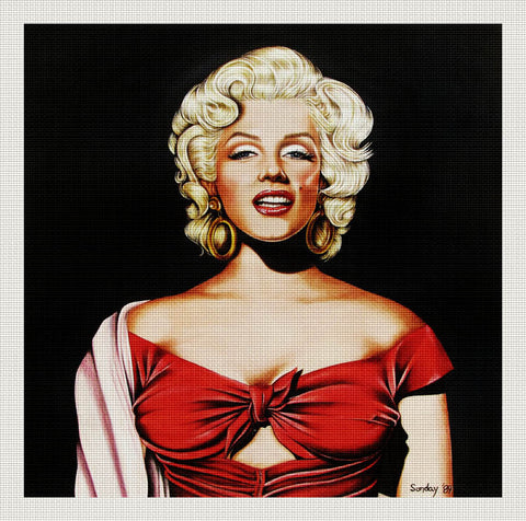 Marilyn in Red, Joseph Sonday