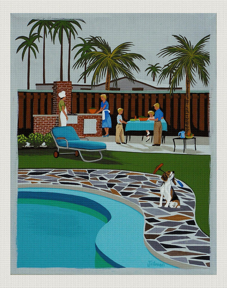 Barbeque Beagle, Linda Tillman
