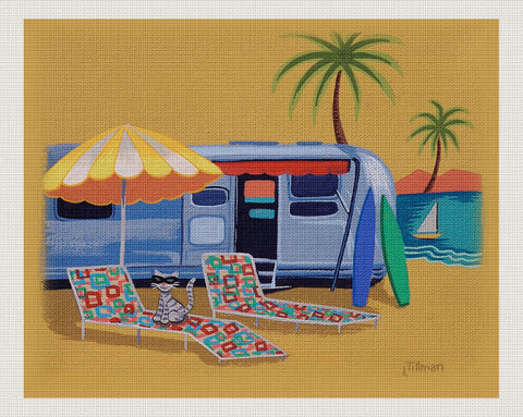 Cool Cat Camping, Linda Tillman