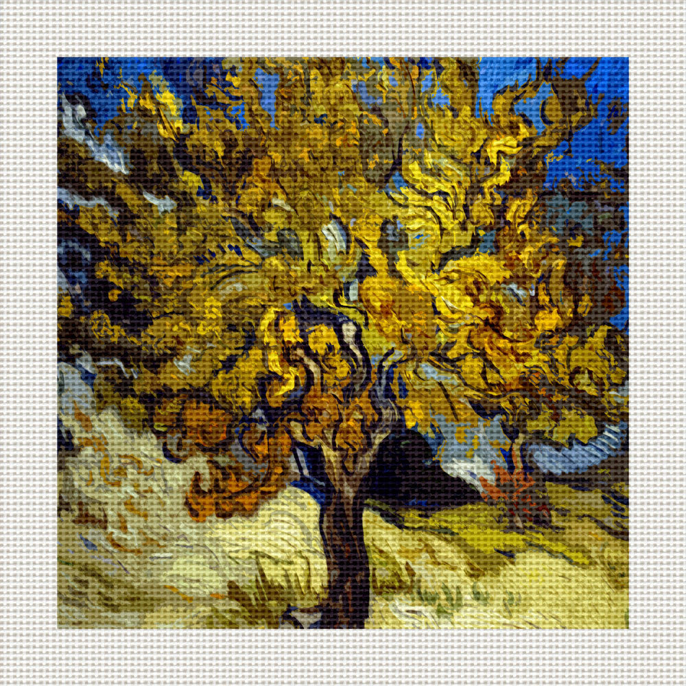 "The Mulberry Tree, 5 x 5"" Miniature"