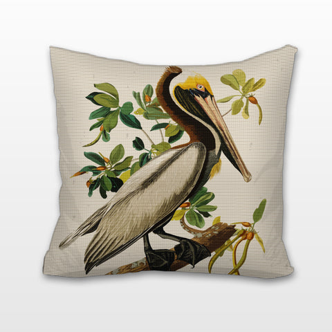 Pelican, Cushion, Pillow